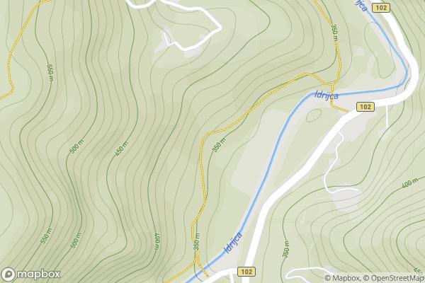 static Mapbox map